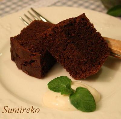 しっとり濃厚 チョコレートケーキ