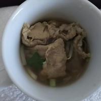 野菜たっぷり豚肉スープ