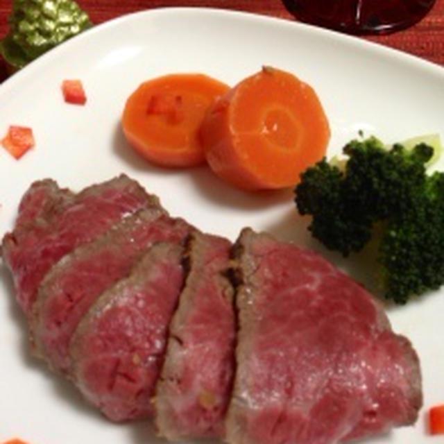 ☆クリスマス☆ヘルシーレシピ☆オーブンを使わない簡単ローストビーフ☆