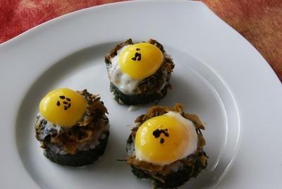 目玉寿司カナッペ