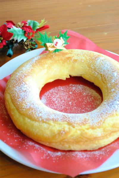リンゴクラフティーの クリスマス リース ☆