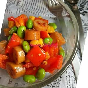 ほのかな刺激がヤミツキに!カレー味のサラダレシピ