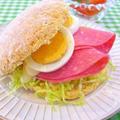 ホットケーキミックスで作る!Cafe風バンズサンド♪ & 恐るべきマイコ by みぃさん