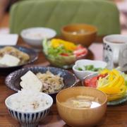 レンジで作る肉豆腐の献立と幼稚園の遠足。