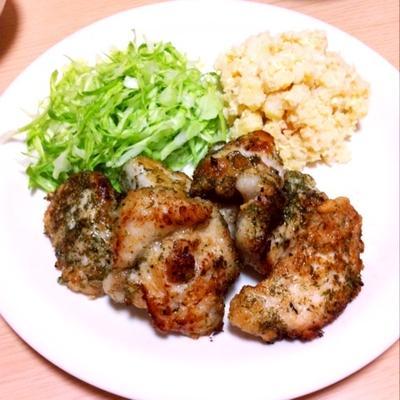 塩麹と青海苔の鶏からあげ