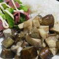 カジキと野菜のコロコロ焼き