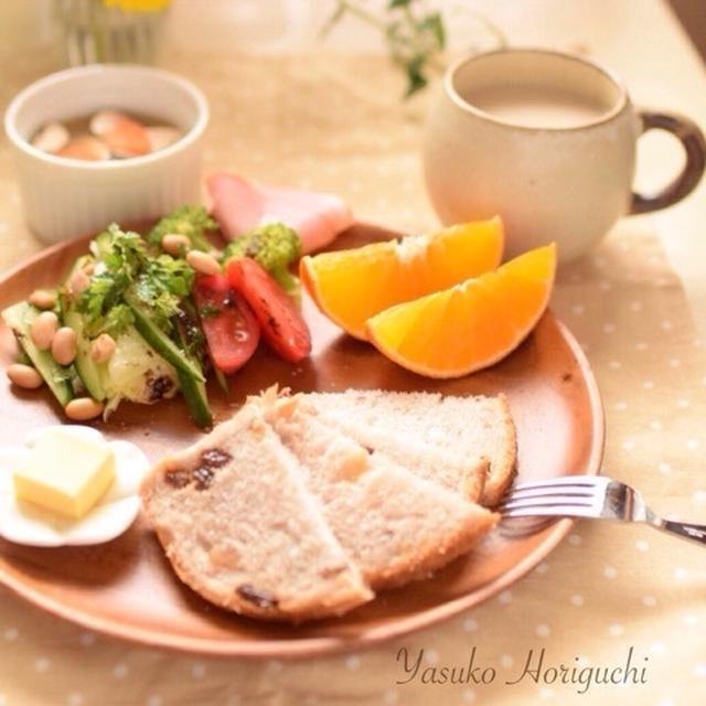 【簡単レシピとレポ】幸せな朝食〜お土産で頂いた商品づくし〜