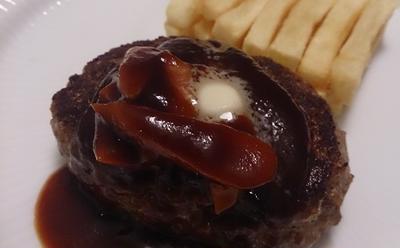【牛すじ肉】コラーゲンたっぷりのハンバーグの作り方(レシピ)