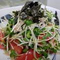 簡単☆トマトとかいわれのおじゃこ和え by kaana57さん
