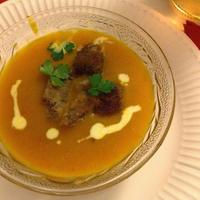 ココナッツミルク×かぼちゃのスープ