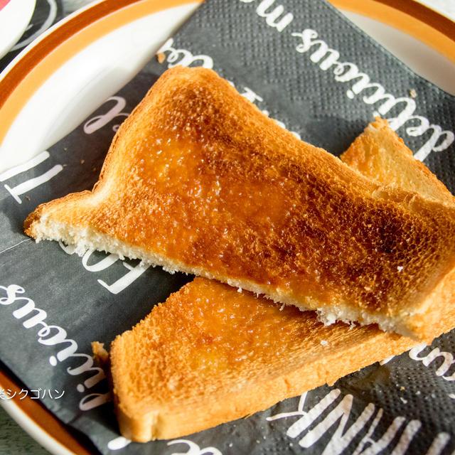 シュガートースト♪簡単あま〜〜い朝ごはんとボンジョレヌーボ