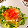 野菜たっぷり夏の冷たいパスタ ガーリック風味