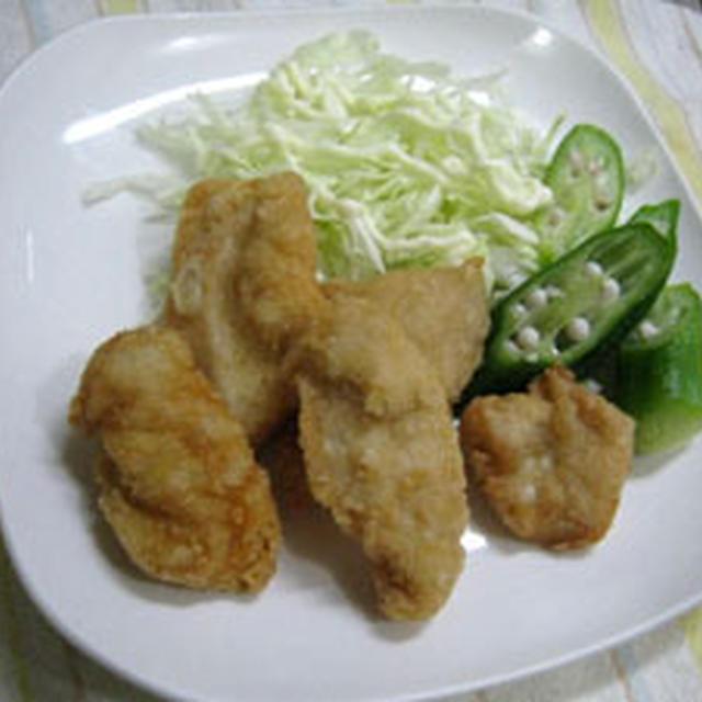 鶏肉の塩マリネから揚げ
