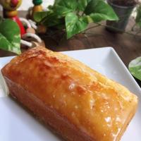 ホットケーキミックスでしっとりハチミツレモンケーキ