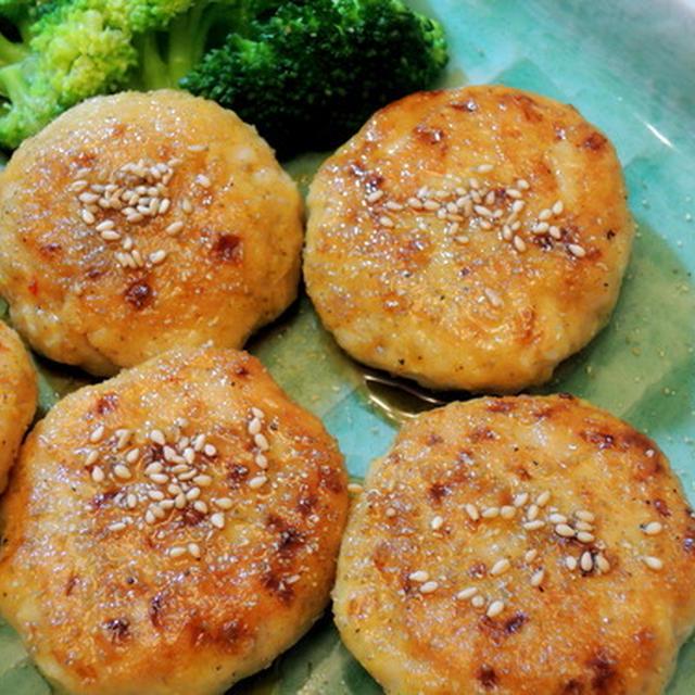 鶏胸肉の照り焼きハンバーグと筍三昧の夕食☆☆☆
