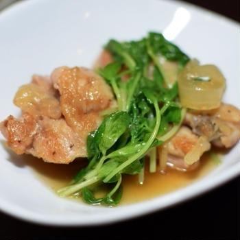 鶏肉手羽元の生姜煮