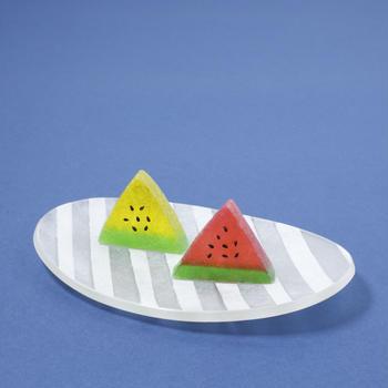 NEW!スイカの琥珀糖 【1Dayオンラインレッスン】アメリカの和菓子教室