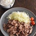 豚肉の簡単レシピ*梅味のさっぱり生姜焼き~マイナビニュースに掲載~