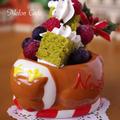 陶器「おひる寝トナカイ」で超簡単クリスマスツリーケーキ&クリスマスのお菓子をまとめてみました♪ by めろんぱんママさん
