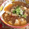残った麻婆豆腐でマーボー春雨スープ