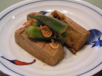 高野豆腐のとろとろ煮