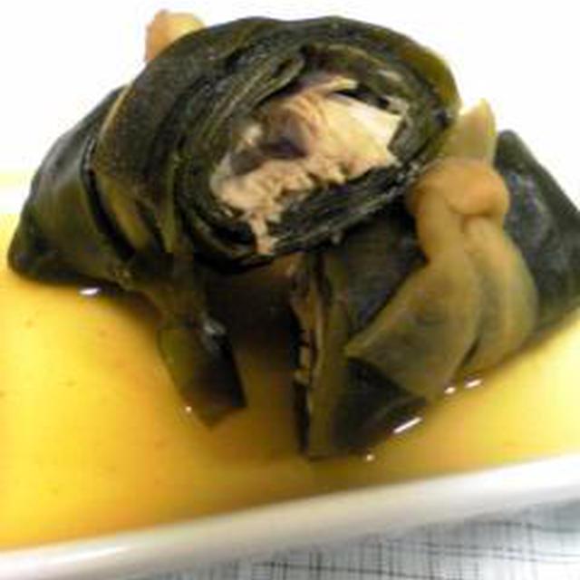フライパンで作るサバの昆布巻き