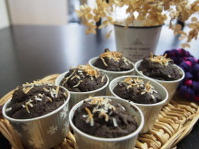 ベジハート(米粉パンケーキミックス)で作るココナッツオイルのマフィン