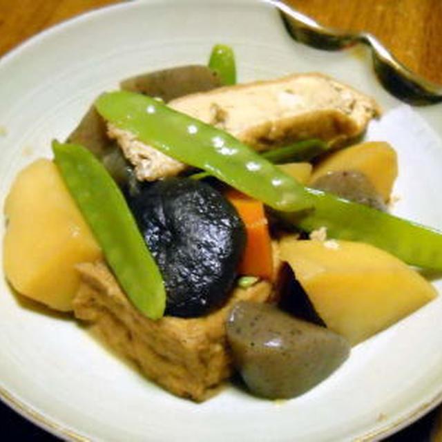 厚揚げと野菜の五目煮