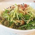 大根と水菜のサラダ☆マリネ風