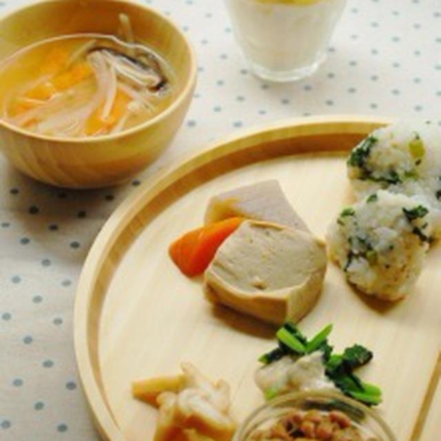 簡単♪鮭と卵と野菜のおすし丼