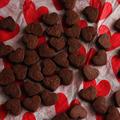 バレンタインに♪ハートのココアクッキー入りラッピング