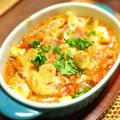 旬の白菜と缶詰でボリュームおかず【白菜のツナトマトチーズ焼き】と3日分の晩ごはん