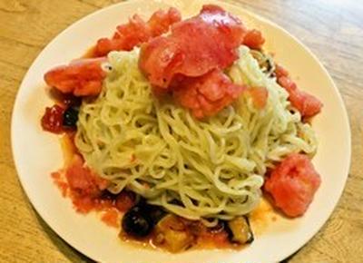 ミスドの氷冷トマト麺を作ってみた