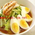 冷麺のススメ☆その五【サラダ・ネンミョン・レシピ】
