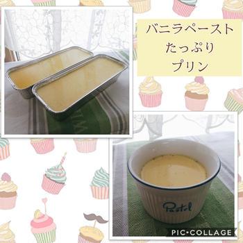バニラペーストたっぷり~贅沢カスタードプリン