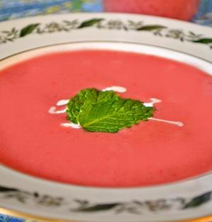 いちごのスープ(Strawberry Soup)