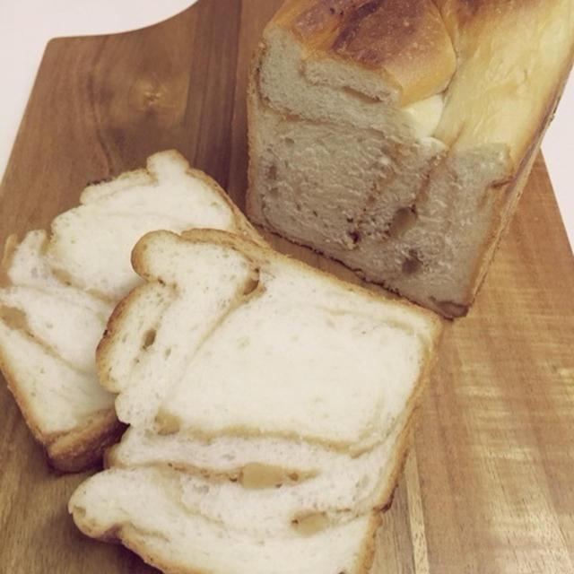 キャラメルクルミのマーブルパン。