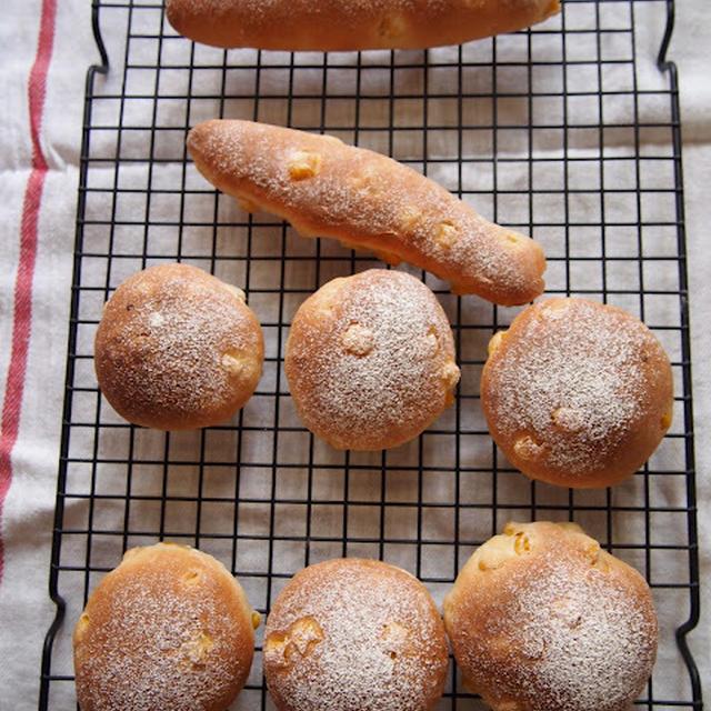 薄力粉で豆乳コーンパン