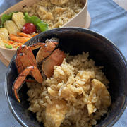 モクズガニと油揚げの炊き込みご飯。うまみがすごい!贅沢な新米レシピ。