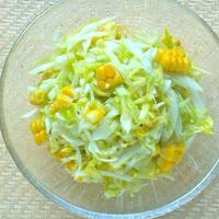 野菜が甘いっ!嬬恋高原キャベツと コーンのスイートサラダ。