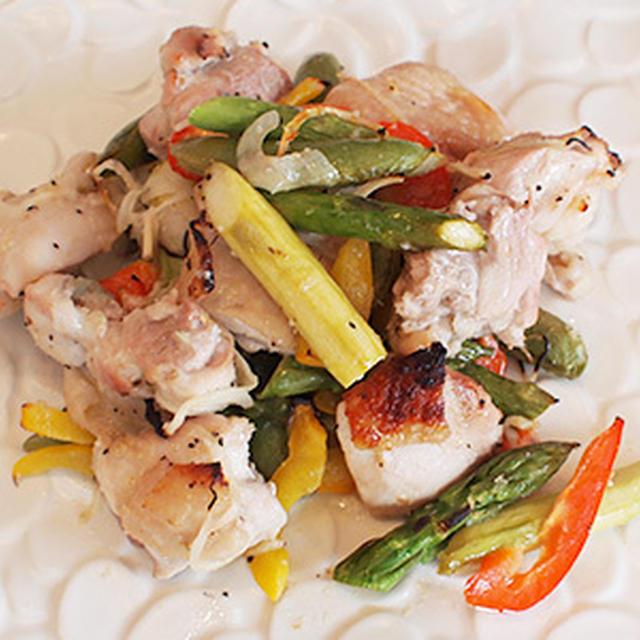 作って!ジョイクックのレシピランキング№1! 鶏肉と彩り野菜のレモンマリネ