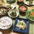 簡単副菜♡にらとささみの韓国あえ♪
