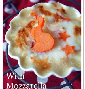 とろ~り白菜とチーズの焼きクリームシチュー♪