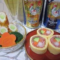 生ハム錦糸卵
