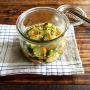 5分で出来る簡単常備菜【すし酢で旨みアップ*きゅうりの浅漬け】簡単*作り置き