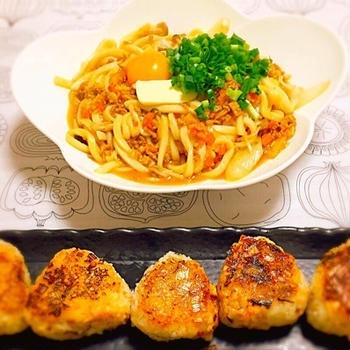 ボリュームお腹に大満足ご飯もの料理