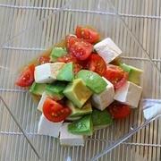 食欲がなくてもサラッと食べられる♪「アボカド×トマト」を使ったサラダレシピ