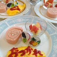 キュキュットCLEAR泡スプレー、終了式、次女3歳お誕生日会、食事の記録3/15。