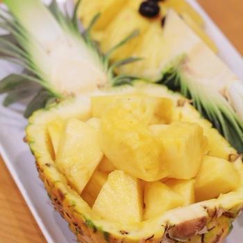 【おいしいもの】すごい国産パイナップル【LAN】