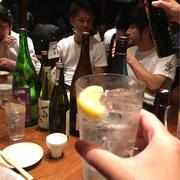 日本酒modern and (VS?) classic 打ち上げに潜入